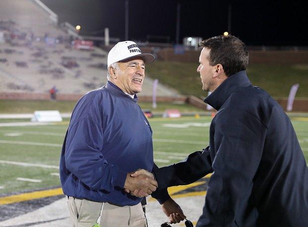 Rockhurst coach Tony Severino