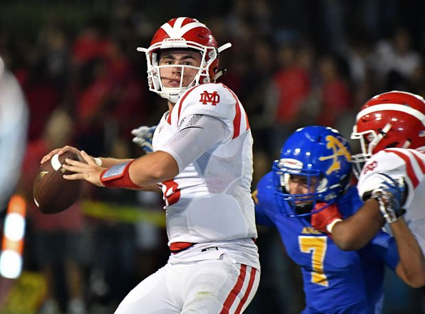 JT Daniels has thrown 22 touchdown passes and just one interception in 2017.