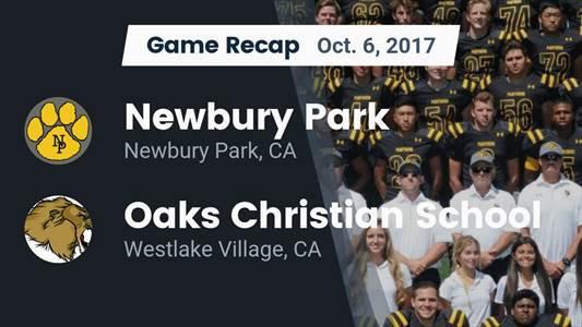 Football Game Recap: Oaks Christian vs. Upland