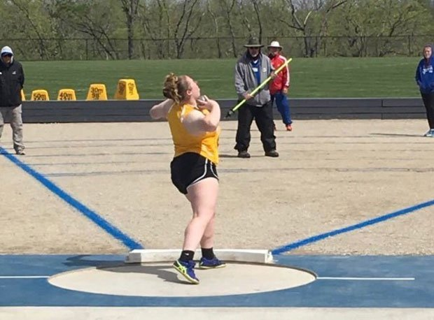 Aurentz prefers shot put over discus.