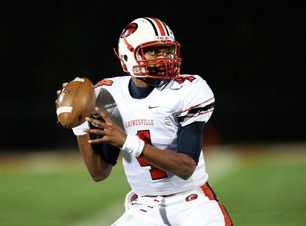 Deshaun Watson in high school at Gainesville (Ga).