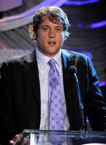 Matthew Stafford was the NFL No. 1 pick by Lions in 2009.