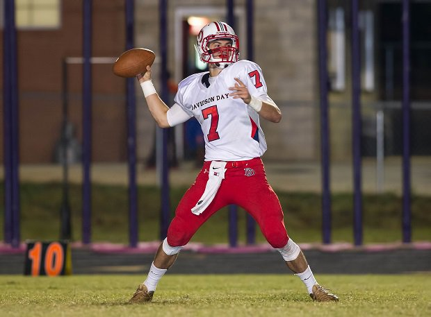 Will Grier, Davidson Day