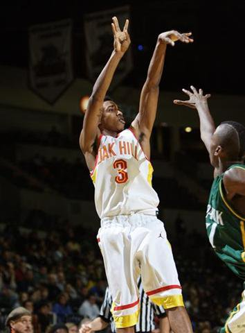 Brandon Jennings averaged more than 38 ppg at Oak Hill Academy.