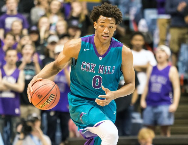 North Carolina phenom Wendell Moore Jr. was one of 12 players named to USA Basketball's U16 National Team.