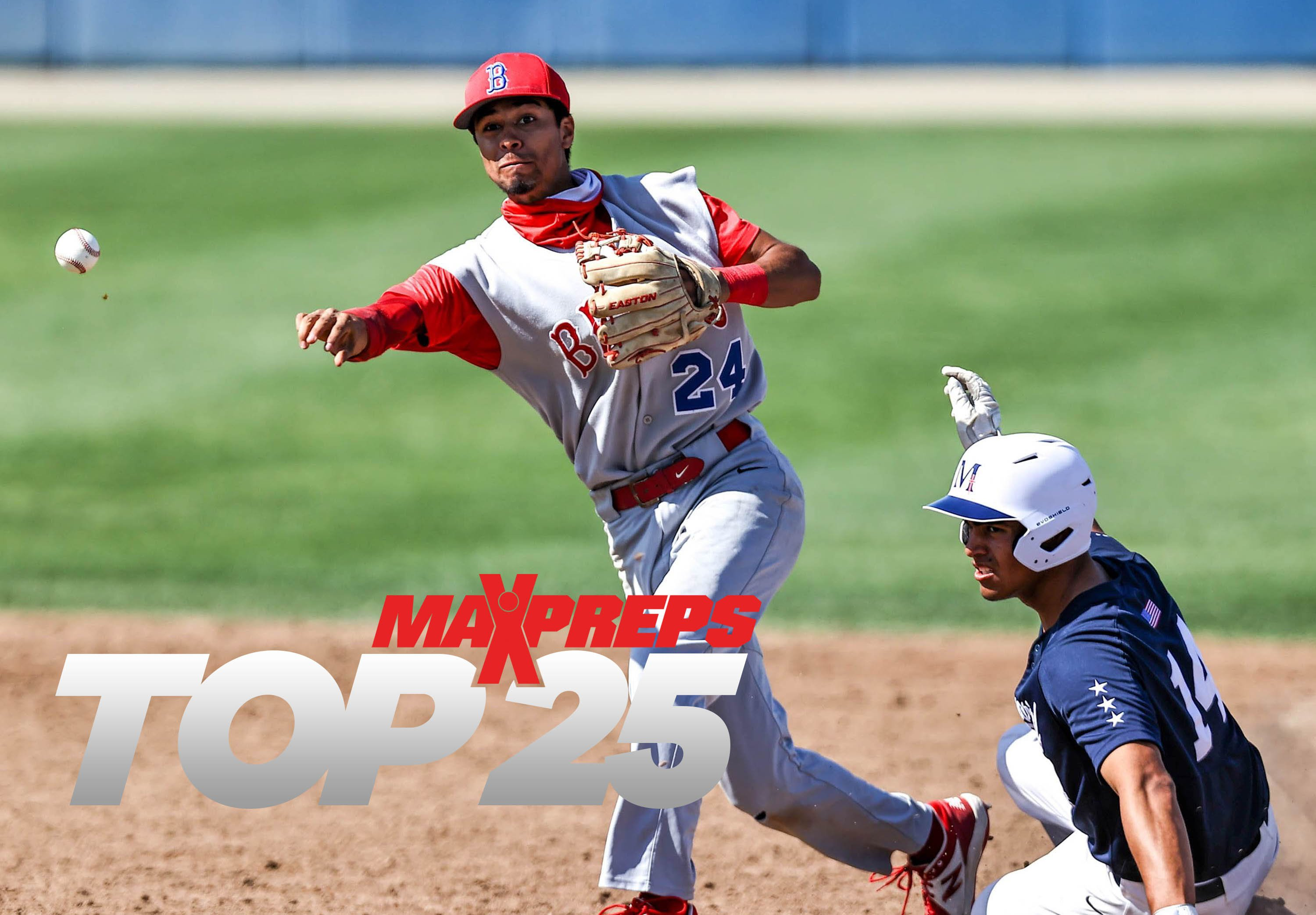 Buchanan climbs into this week's MaxPreps Top 25 rankings.