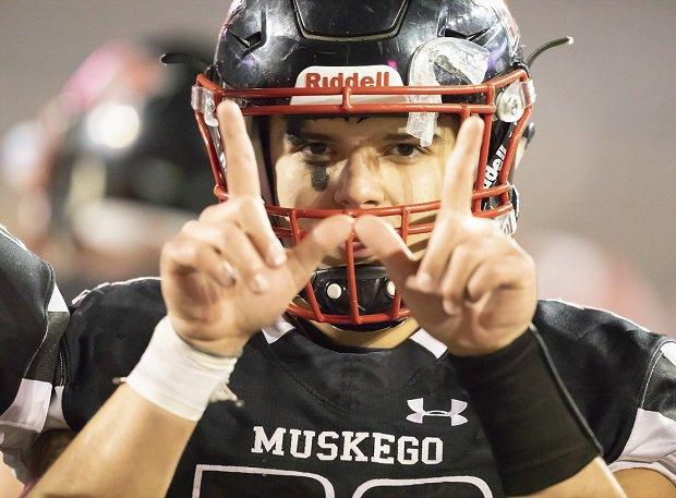 Muskegon tops Wisconsin's crop of football teams this season.