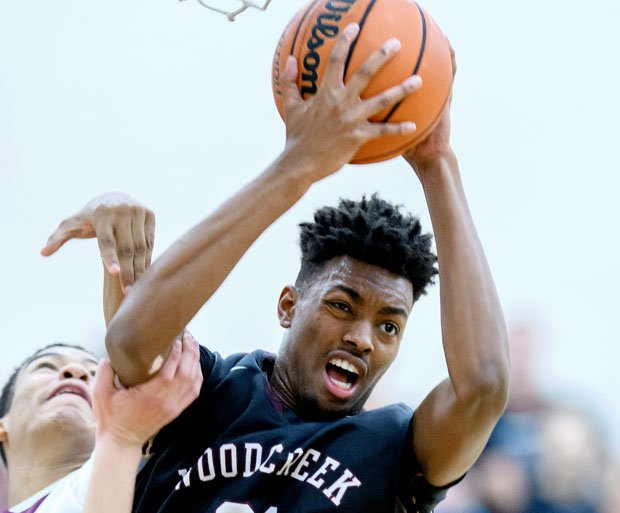 Jordan Brown averaged 26.3 points and 15.8 rebounds per game last season as a junior at Woodcreek.