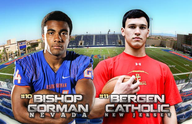 Bergen Catholic will trek all the way to Nevada this week in yet another Las Vegas-based national thriller. Bishop Gorman has already played host to Our Lady of Good Counsel.