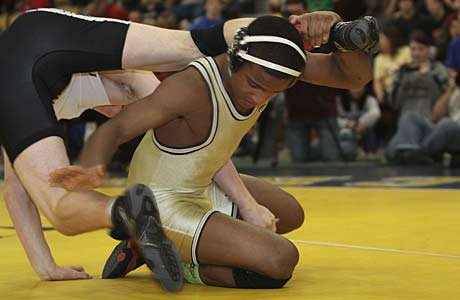 At 15, Mark Hall is already a two-time state champion. Still, his best wrestling may be ahead of him.