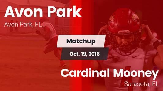 Football Game Recap: Cardinal Mooney vs. Avon Park