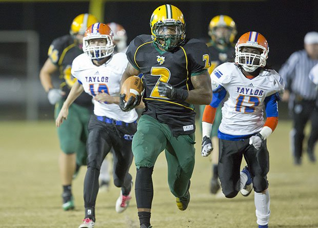 Derrick Henry rushed for a national high school record 12,124 yards during his days at Yulee.