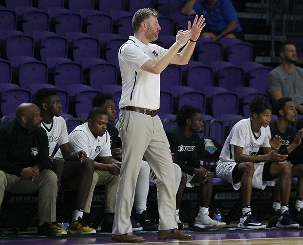Head coach Jesse McMillan