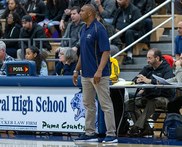Head coach Ray Barefield