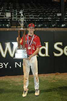 Blake Schmit was named NationalPlayer of the Year for AmericanLegion.