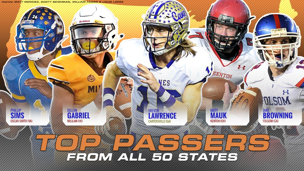 High School Football Passing Yardage Leaders From All 50 States Maxpreps