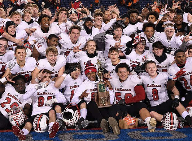 LaSalle has won four state titles (2014, 2015, 2016, 2019) in the last decade.