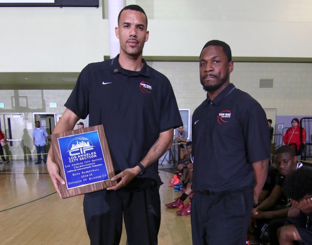 Dennis Latimore (left) will be the third head coach in three years at Chino Hills.