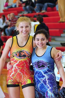 Kaitlin Fitzpatrick, left, and Olivia Logiurato, right.