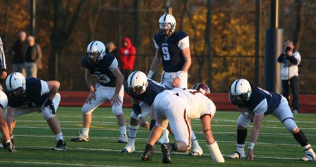 Adam Strouss led the charge from the quarterback spot, leading Episcopal Academy to a remarkable undefeated season. Strouss accounted for 1,974 yards and 33 touchdowns this season.
