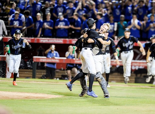 O'Connor won the Arizona 6A title and finished No. 29 in the MaxPreps Xcellent 50 National High School Baseball Rankings.