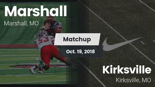 Football Game Recap: Kirksville vs. Marshall