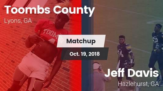 Football Game Recap: Jeff Davis vs. Toombs County
