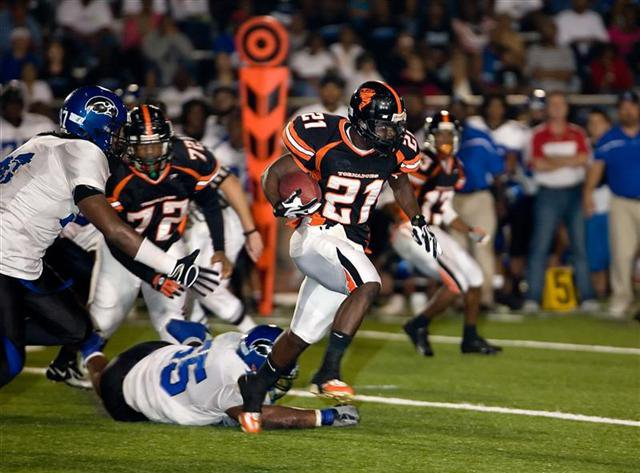 Eduardo Clements of Miami's Booker T. Washington is one of the region's top running backs for 2010.