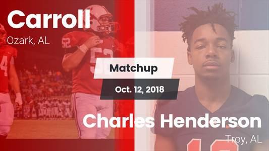 Football Game Recap: Charles Henderson vs. Carroll