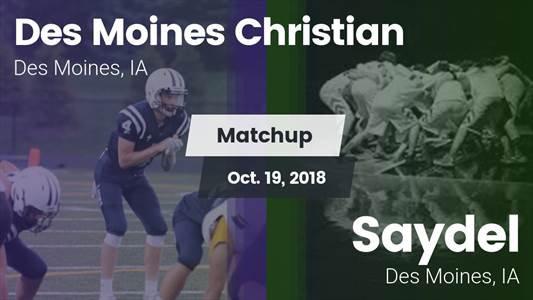 Football Game Recap: Saydel vs. Des Moines Christian