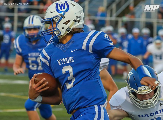 Wyoming senior quarterback Evan Prater accounted for 146 touchdowns and was 40-2 in 42 career starts.