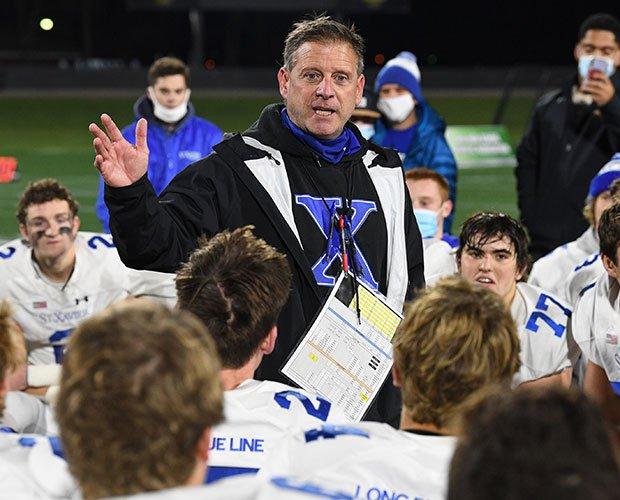 Head coach Steve Specht
