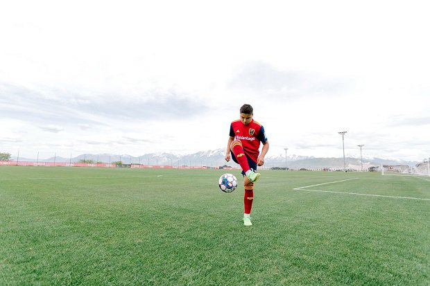 Ken Bellini is in his first year with Real Salt Lake Academy and has dreams to play soccer professionally. As stellar student, he also has college on his mind as a backup plan.