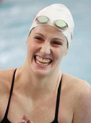 Missy Franklin flashing her world famous smile.