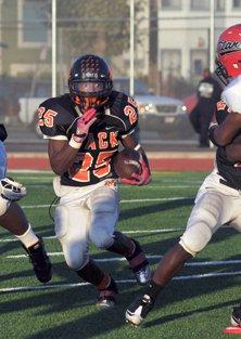 Kenyatta McGee Jackson, McClymonds standout running back.