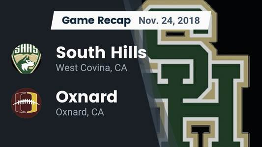 South Hills High School (West Covina, CA) JV Football