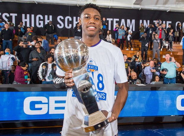 In three games, Duke-bound R.J. Barrett finished with 80 points at the GEICO Nationals.