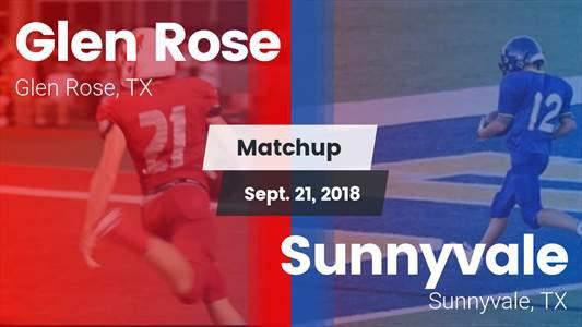 Football Game Recap: Sunnyvale vs. Glen Rose