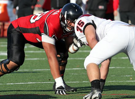 Freddie Tagaloa has all the numbers: 6-foot-7, 315 points and 3.77 grade point average.