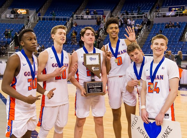 Bishop Gorman won the Nevada 4A boys basketball state crown.