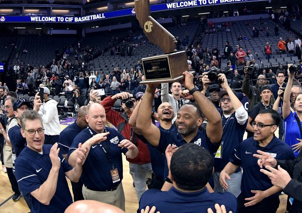 Head coach Andre Chevalier hopes to be lifting the state championship trophy once again at the conclusion of the 2019-20 season.