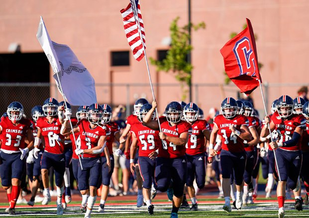 Crimson Cliffs helped Utah kick off the 2020 season with an opening game against Manti.