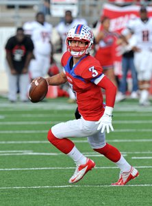 Kramer Robertson accounted for more than 3,600 yards last season while leading Midway to a 13-1 season.