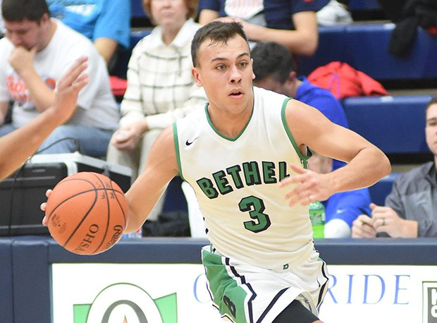 Bethel's Caleb South is one of this week's nominees after scoring 46 points in a D-III tourney game against Anna.