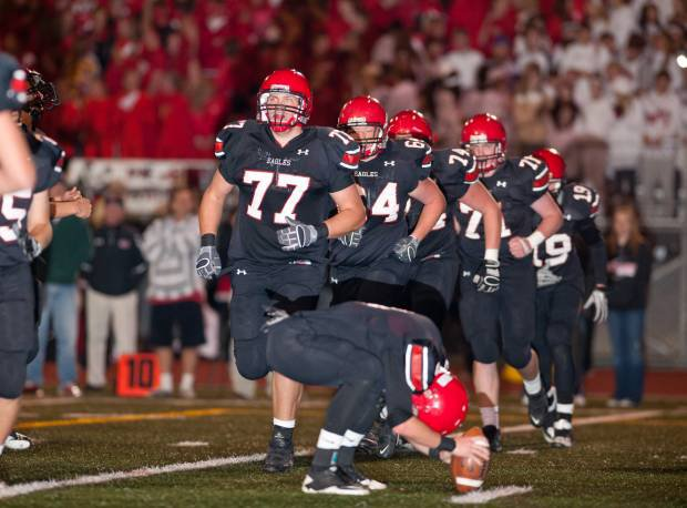 The 2012 version (different than the 2010 team shown here) of Eden Prairie is our pick for the top team in Minnesota.