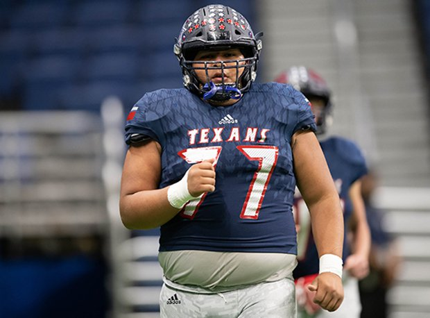 Wimberley offensive lineman Ryan Rubio was All-Texas last season.