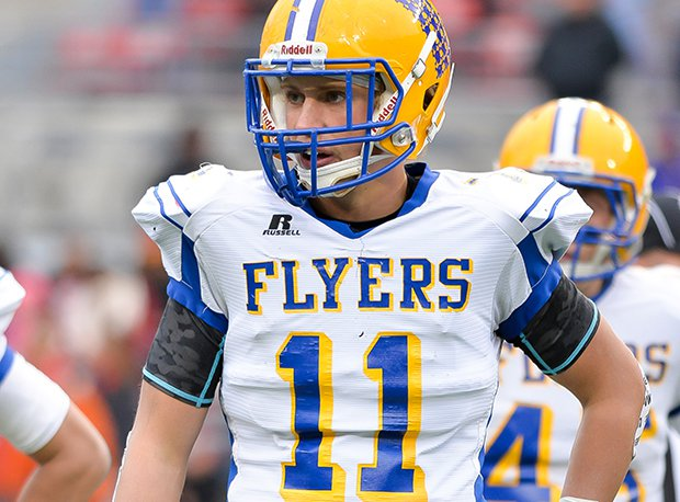 Marion Local junior linebacker Sam Huelsman is one of several Flyers named All-Ohio.