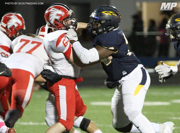 Streetsboro's Mike Hall has committed to Ohio State.