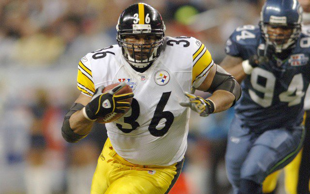 Jerome Bettis lands at No. 10 overall.