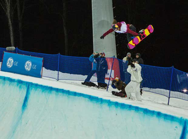 Arielle Gold has taken her high-flying halfpipe act from Steamboat Springs High School to Sochi.